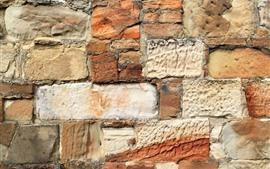 Parede, tijolos, textura