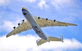 Vorschau des Hintergrundbilder An-225 Flugzeuge, Flug, Himmel, Wolken