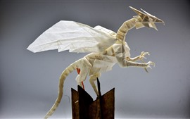 Art origami, dragon