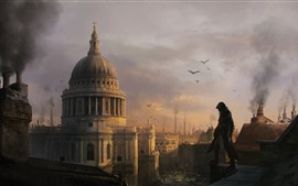 Aperçu fond d'écran Assassin's Creed: Syndicate, London, photo d'art