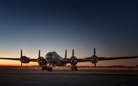 Preview wallpaper B-29 strategic bomber