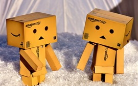 Preview wallpaper Cute Danbo, cartoon