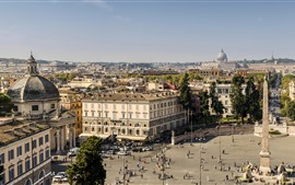 Preview wallpaper Italy, Rome, obelisk, city