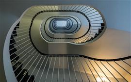 Лестницы, спиральные, высокие