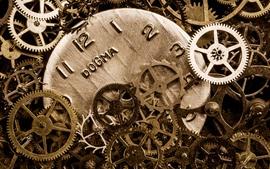 Many gears, clock