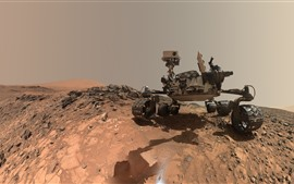 Preview wallpaper Mars Rover, Curiosity, planet