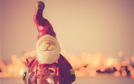 Preview wallpaper Santa Claus toy, New Year