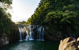Preview wallpaper Shifen waterfall, Taiwan