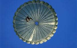Preview wallpaper Sky, parachute