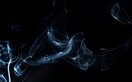 Preview wallpaper Smoke, darkness