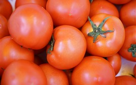 Alguns tomates, vegetais