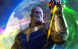 Preview wallpaper Thanos, Avengers: Infinity War