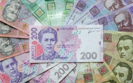 Preview wallpaper Ukraine paper currency, money