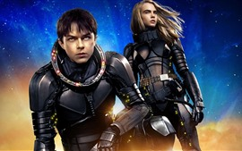 Preview wallpaper Valerian and the City of a Thousand Planets, Science fiction movie