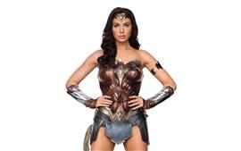 Preview wallpaper Wonder Woman, Gal Gadot, white background