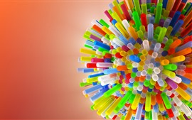 Preview wallpaper Colorful tubes