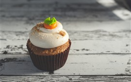 Preview wallpaper Cupcake, cream, food