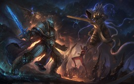 Aperçu fond d'écran Diablo, Warcraft, photo d'art
