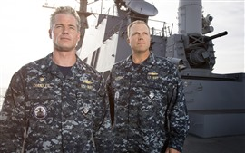 Preview wallpaper Eric Dane, Adam Baldwin, The Last Ship