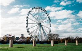 Ferris wheel, park