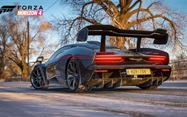 Preview wallpaper Forza Horizon 4, McLaren supercar rear view