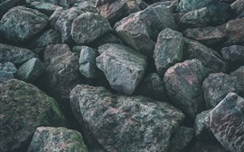 Preview wallpaper Gray rocks, texture