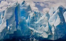 Iceberg, mar, hielo
