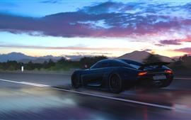Velocidad del supercar Koenigsegg, Forza Horizon 3