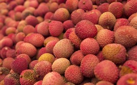 Litchi, fruit