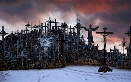 Preview wallpaper Lithuania, Hill of Crosses
