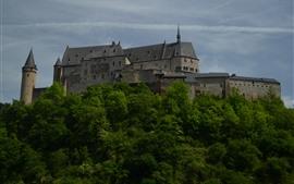 Luxemburgo, vianden, castillo