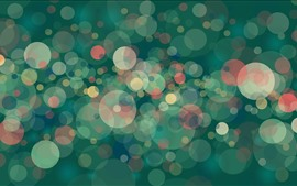 Preview wallpaper Many glare circles, abstract
