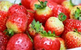 Morango, frutas, deliciosas
