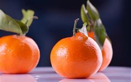 Mandarinas, fruta, naturaleza muerta