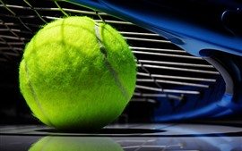 Preview wallpaper Tennis ball, green