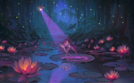 Preview wallpaper The Princess and the Frog, cartoon movie