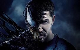 Preview wallpaper Tom Hardy, Venom 2018