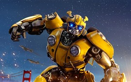 Preview wallpaper Transformers, Bumblebee, robot