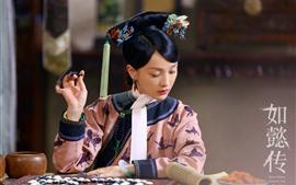 Zhou Xun, o amor real de Ruyi no palácio