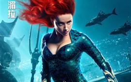 Amber Heard, Mera, Aquaman 2018