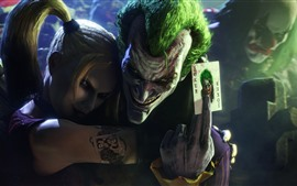 Preview wallpaper Batman: Arkham, Joker, Harley Quinn