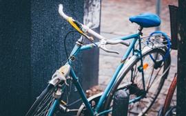 Aperçu fond d'écran Vélo bleu