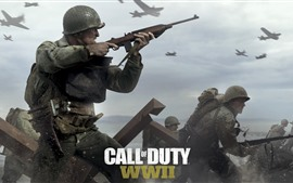 Preview wallpaper Call of Duty: WWII, video games