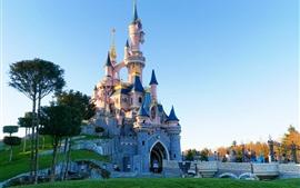 Preview wallpaper Disneyland, castle