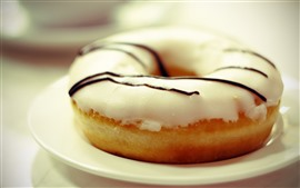 Preview wallpaper Donut, chocolate
