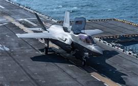 F-35B Lightning II lutador, deck