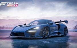 Preview wallpaper Forza Horizon 4, McLaren supercar front view