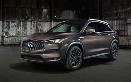 Infiniti QX50 marrón coche 2019