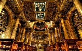 Italy, Rome, Church, interior