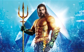 Preview wallpaper Jason Momoa, Aquaman 2018